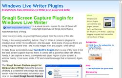 Windows Live Writer Plugins ダウンロードするサイトがない